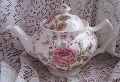 .My daughter gave me a teapot like this one and I cherish it very much...