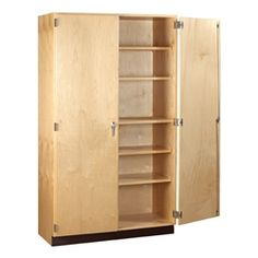 Tall Wood Storage Cabinet (60  W x 22  ...  sc 1 st  Pinterest : office storage cabinets - Cheerinfomania.Com