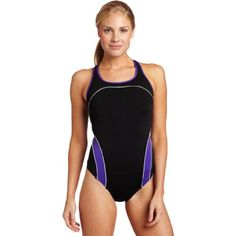 Speedo Women's Endurance  Side Shirred Tank One Piece Swimsuit ** Learn more by visiting the image link. (This is an affiliate link) #Swimwear