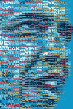 Barack Obama 2012: Yes We Can (again) by Charis Tsevis, via Behance