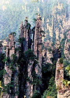 China Travel Photos - Zhangjiajie, Hunan 湖南張家界 by Lao Wu Zei, via Flickr