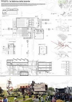 Architecture Design Presentation Sheets results of the competition houses for change | architectural