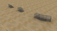 To show Gabion Basket modifications in 3D.