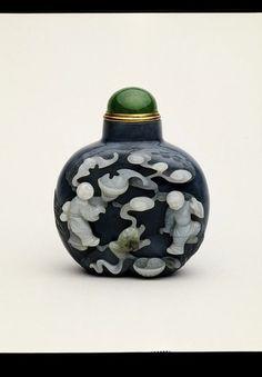 Snuff bottle, China,1813-1861