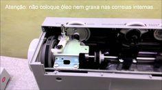 Lubrificando máquina de costura Singer Facilita Pró 4411