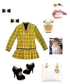 """Cher Horowitz inspired"" by unicornwhisper on Polyvore featuring Jean-Paul Gaultier, Christian Dior, Milani, Jouer and Kate Spade"