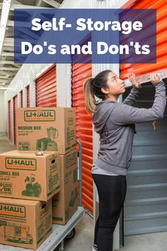 Looking to store some of your extra items? Check out these do's and don'ts when it comes to self-storage! Cheap Storage, Storage Hacks, Storage Solutions, Storage Ideas, Moving House Tips, Port Hueneme, Storage Auctions, Self Storage Units, Small Boxes