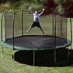 Skywalker Trampolines 15' Trampoline with Safety Enclosure I SWTC15,    #Skywalker_Trampolines_I_SWTC15