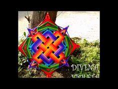Mandalas Tibetanos y Nudo Celta Crochet Mandala, Mandala Art, Mandela Patterns, God's Eye Craft, Dream Catcher Mandala, Gods Eye, Weaving Textiles, Santas Workshop, Threading