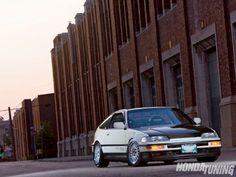 1990 Honda CRX - Hasport Motor Mounts - Honda Tuning Magazine