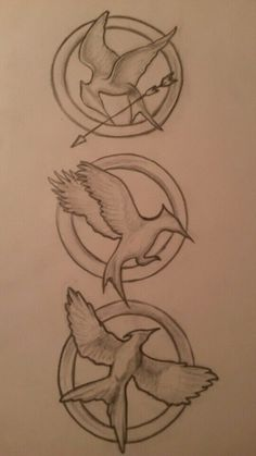 The hunger games logos By Shona ♥: