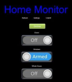 Home Alarm System project - PrivateEyePi Project Home Security Alarm, Home Security Tips, Wireless Home Security Systems, Safety And Security, Security Camera, House Security, Security Tools, Security Equipment, Home Monitor