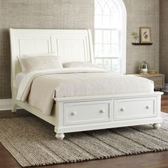 Darby Home Co Chippewa Panel Bed U0026 Reviews | Wayfair