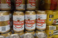 Cerveza AURUM.