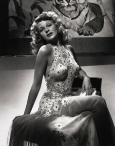 Rita Hayworth studio portrait for You Were Never Lovelier