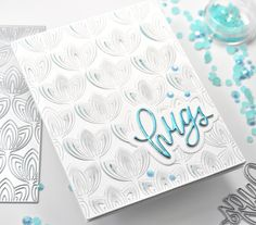 Simon Says Stamp Fine Petals Hugs – REDSAS Cards For Friends, Friend Cards, Handmade Greetings, Simon Says Stamp, Diy Cards, Hugs, Encouragement, Big Hugs, Homemade Cards