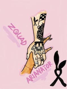 Pray for Manchester Zquad n Arianators art by me♡♡♡