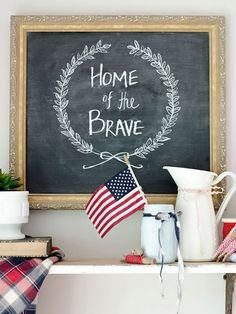 17 Ways to Make Decorating for July 4th a Blast via Brit + Co