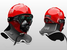 C-Thru is a helmet that is designed to help firefighter walk through dense smoke during smoke diving search and rescue missions -  designed by Omer Haciomeroglu