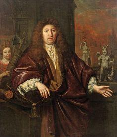 Cuper, Gisbert (1644-1716), painting by Jan de Baen (1633-1702)