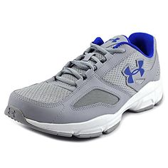 Under Armour Mens UA Zone Overcast GrayWhiteUltra Blue Sneaker 10 D M ** You can get more details by clicking on the image.