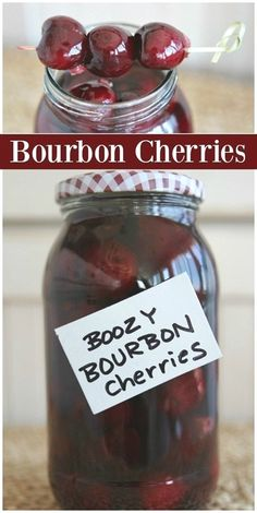 """Boozy Bourbon Cherries These Bourbon Cherries are perfect for gifting or adding to cocktails."""", """"pinner"""": {""""username"""": """"first_name"""": """"Mandi"""", """"domain_url"""": null, """"is_default_image"""": false, """"image_medium_url"""":. Party Drinks, Fun Drinks, Yummy Drinks, Healthy Drinks, Alcoholic Drinks, Beverages, Healthy Food, Refreshing Drinks, Nutrition Drinks"""