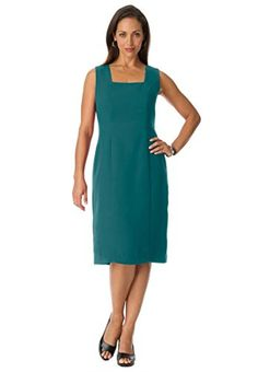 TOPSELLER! Jessica London Women's Crepe Sheath D... $28.87