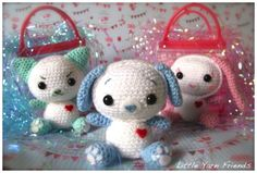 Little Yarn Friends • Crochet Pattern: The Reversible Expressions Animal Series