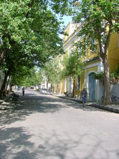 French Quarters, Pondicherry -  love the mix of Indian and French cultures