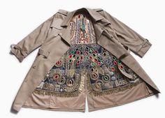 nick cave encrusts hustle coat with jewels at art basel miami beach