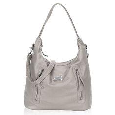 c36f6802d66a Vintage Hobo Purse for Women Soft Large Women Handbags - Grey - CH12O45JTFP