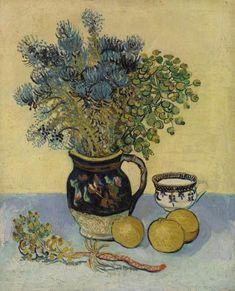 Vincent van Gogh, Still Life (Nature Morte) on ArtStack #vincent-van-gogh #art