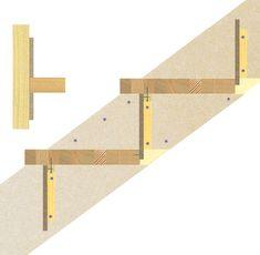 Sådan bygger du nemt en gør-del-selv-trappe   idényt Diy And Crafts, Construction, Wood, Dyi, Inspiration, Tips, Staircases, Fingernail Designs, Building