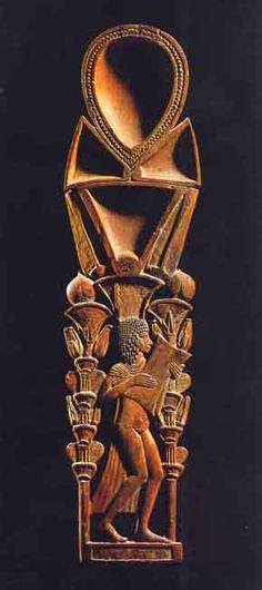Ancient egyptian wooden bouquet cosmetic spoon - Google Search