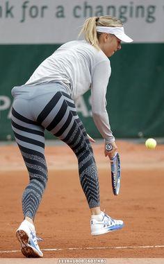 Resultado de imagen de maria sharapova in leggings small ass like most by womens how smaller how better Maria Sharapova Hot, Sharapova Tennis, Tennis Fashion, Sport Fashion, Maria Sarapova, Tennis Players Female, Sport Tennis, Tennis Stars, Gymnastics Girls