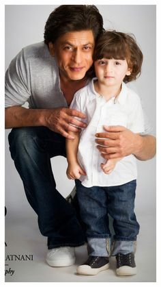 Shahrukh khan with AbRam