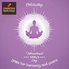 Wishing you all a very happy #InternationalYogaDay from CORNITOS!  #Yoga #Fun #Cornitos #HealthyEating