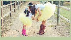 Mother Daughter Matching Tutus | Mommy & Me Party Wear & Photo Shoots | MomMeMatch.com