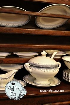Old French dishes tu
