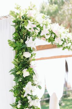Floral-covered ceremony arbor: http://www.stylemepretty.com/little-black-book-blog/2016/01/12/southern-portugal-summer-wedding/ | Photography: French Grey Photography - http://frenchgreyphotography.com/