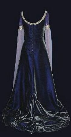Medieval wedding dress, goth romantic                                                                                                                                                     More