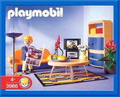 Playmobile - Oh, how I loved playing with all my Playmobile collection when I was young. (I still love them.)