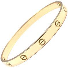 Cartier Love Yellow Gold Bangle Bracelet