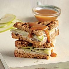 Cinnamon-Apple Panini | MyRecipes.com