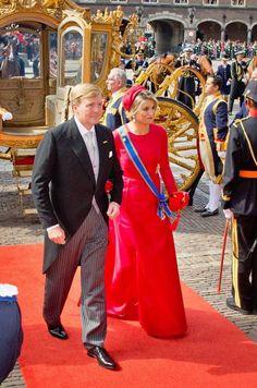 Queen Maxima of Netherlands and King Willem-Alexander of Netherlands 2014