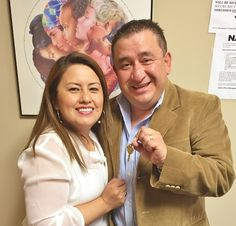 """Mr. Ospina: """"NACA helped us to understand what the process of buying a house is. They helped us to organize our paperwork in order to get our loan approved."""" #Newark #AmericanDream #NACAPurchase 3.625% APR"""