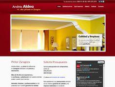 Pintores Zaragoza - Andrés Aldea Bueno http://www.andresaldeapintores.com/ #web #Zaragoza
