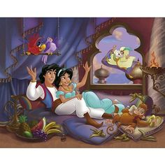 Aladdin + Jasmine