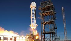 Blue Origin launches and lands the same rocket for a third time - 					  Remember when Blue Origin made history by vertically landing a rocket after launching it into space? Remember when they reused that same rocket and then landed it again? Well, today Jeff Bezos' rocket company, once again, launched that very same New Shepard rocket and ... | http://wp.me/p5qhzU-fU7 | #Tech #News