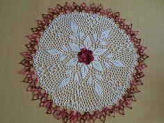 Handmade doilies (22 inch) (56cm) by Ela Mazek